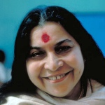 head of shri mataji nirmala devi